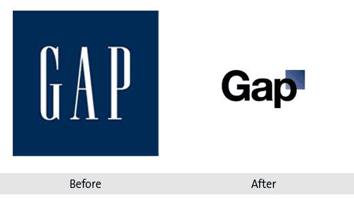 Gap Re-brand